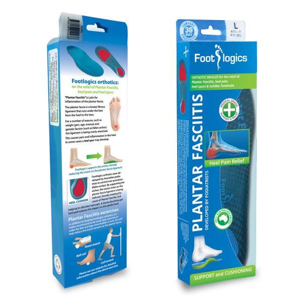 Footlogics Plantar Fasciitis box