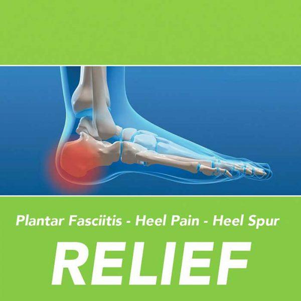 Footlogics PLANTAR FASCIITIS Orthotic Insoles
