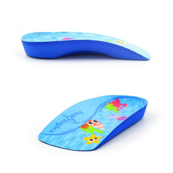3/4 Length orthotic insoles for Children