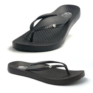 Orthotic Thongs Black