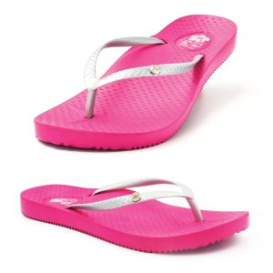 Womens Pink Thong to help with Plantar fasciitis