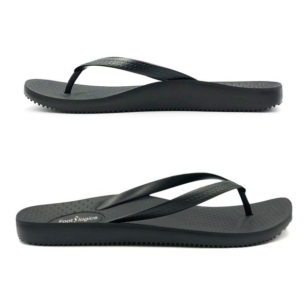 Footlogics Men's Thongs with Arch Support