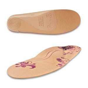 Orthotic insoles for fashion shoes Footlogics