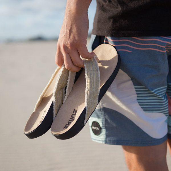 Zullaz 'Beach'  – Mens Canvas Thong