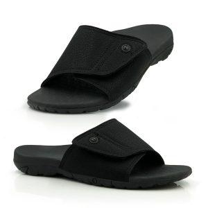 Mens orthotic sandal slide
