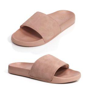 Womens slide sandal arch support